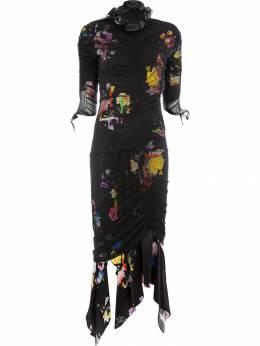 Preen By Thornton Bregazzi платье с цветочным принтом 284