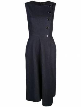 Adam Lippes платье асимметричного кроя без рукавов P19719SD