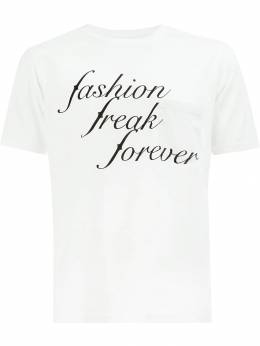 Takahiromiyashita The Soloist футболка 'Fashion Freak Forever' SC0038