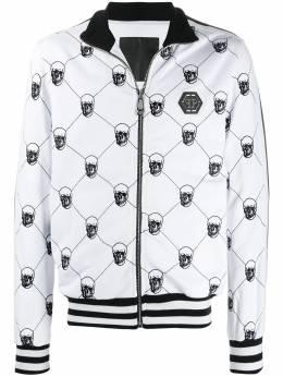 Philipp Plein спортивная куртка Skull F19CMJB1251PJO002N