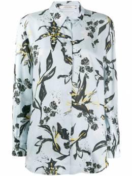 Dorothee Schumacher длинная рубашка с цветочным принтом 447206