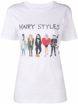 Unfortunate Portrait футболка 'Hairy Styles' HAIRSTYLES
