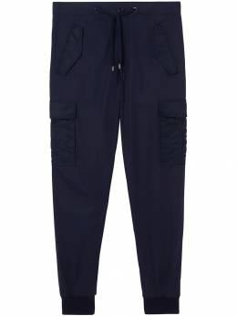 Burberry зауженные брюки карго 8012434