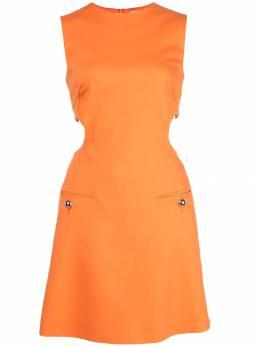 Sara Battaglia платье с вырезными деталями SB5020316S9884