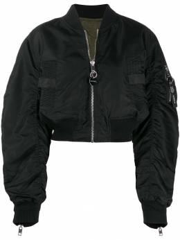 Diesel двусторонняя укороченная куртка-бомбер 00SUI30KAUX