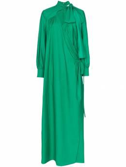 Rosie Assoulin платье макси с запахом 191D13