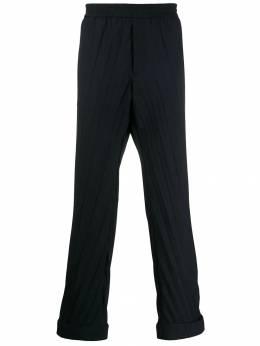Valentino брюки со складками SV3RBB665EL