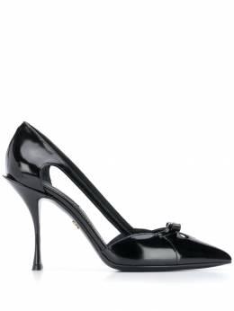 Dolce&Gabbana туфли-лодочки с вырезными деталями CD1342AK879