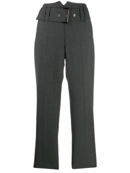Brunello Cucinelli укороченные брюки с поясом M0W07P7052C4078