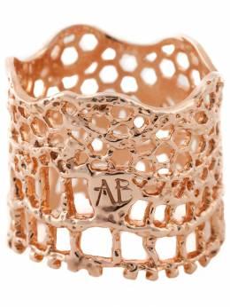Aurelie Bidermann кольцо 'Vintage Lace' LACBA01MRG