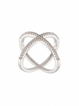 Nialaya Jewelry кольцо с перекрещенным дизайном WRING017