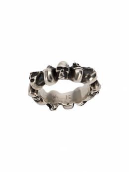 Werkstatt:Munchen кольцо Multi Skull M1920
