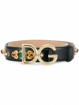 Dolce&Gabbana logo buckle belt BE1328AZ107