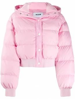 MSGM куртка-пуховик 2741MDH16X195752
