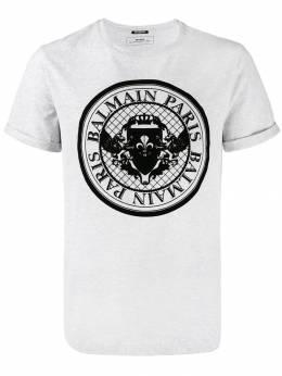 Balmain футболка с логотипом SH11135I109