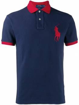 Polo Ralph Lauren рубашка-поло с вышитым логотипом 710524117