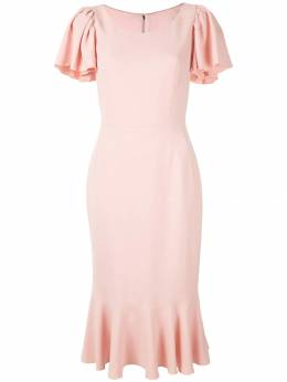 Dolce&Gabbana платье миди с расклешенными рукавами F6E3HTFURDV