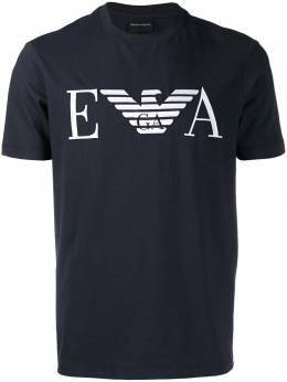 Emporio Armani футболка с вышивкой 6G1TC21J00Z