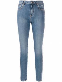 MSGM джинсы скинни с логотипом 2741MDP58L195791