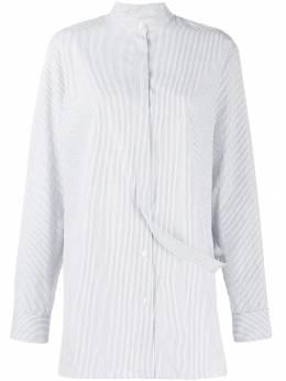 Jil Sander рубашка с ремешком JSPP604605WP244310
