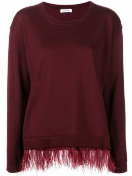 P.a.r.o.s.h. contrast trim knitted top LOWND510152