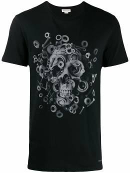 Alexander McQueen футболка с принтом 582907QNZ8A