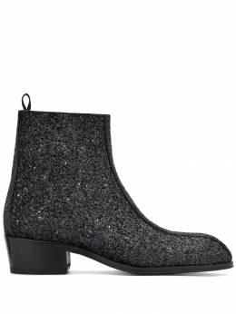 Giuseppe Zanotti Design ботинки New York с блестками IU90029001