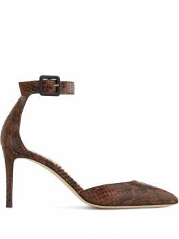 Giuseppe Zanotti Design туфли-лодочки Loreen с тиснением под кожу змеи E960033007