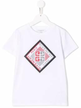 Givenchy Kids - футболка с логотипом 95395956668000000000