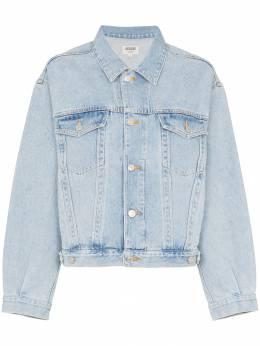 Agolde классическая джинсовая куртка A5010778HEED