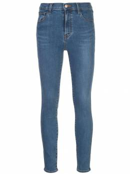 J Brand джинсы скинни с завышенной талией JB002219