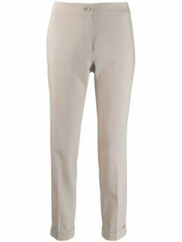 Etro укороченные брюки кроя слим 176470594