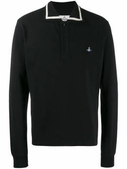 Vivienne Westwood рубашка-поло с вышитым логотипом S25GL0024S23142
