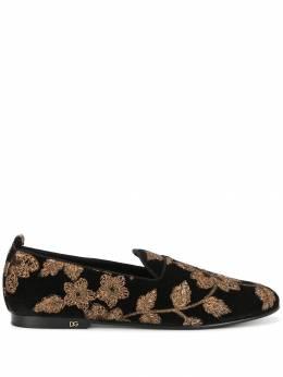 Dolce&Gabbana слиперы с цветочным узором A50312AA629