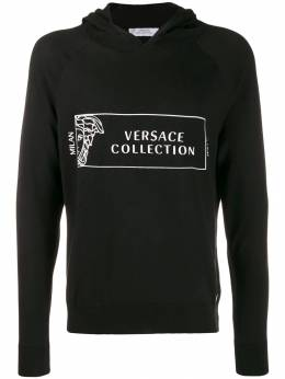 Versace Collection худи с логотипом Medusa V700869VK00335