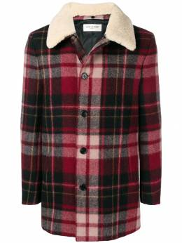 Saint Laurent куртка в клетку 529582Y709T