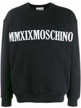 Moschino толстовка с вышитым логотипом J17085227