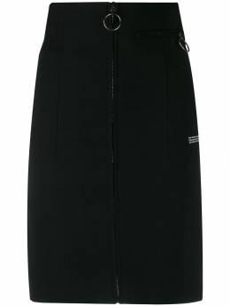 Off-White юбка-карандаш с завышенной талией OWCC077E195150771000