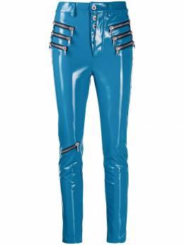 Unravel Project брюки скинни с молниями UWCA052E19067001B800