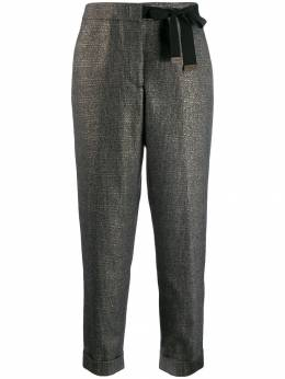 Peserico брюки с бантом P0464306589