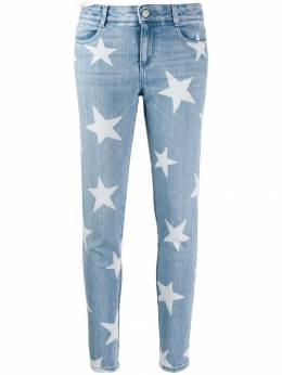 Stella McCartney джинсы скинни с узором 555914SEH28