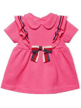 Gucci Kids платье с бантом 571864XJBE7