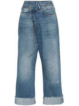 R13 прямые джинсы с завышенной талией R13W2048735CROSSOVER