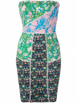Cynthia Rowley Devon patchwork dress 19S1DR50NP
