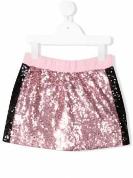 Monnalisa юбка с пайетками 1747014067