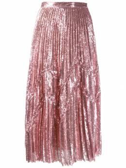 Marco De Vincenzo декорированная юбка миди MQ5223MDVPL03