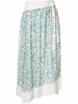 3.1 Phillip Lim полупрозрачная юбка с принтом P1913874MCH
