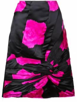 Calvin Klein 205W39nyc юбка А-силуэта с драпировкой 92WWSC75S319