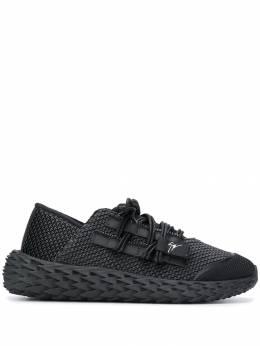 Giuseppe Zanotti Design кроссовки на фактурной подошве RU90006001