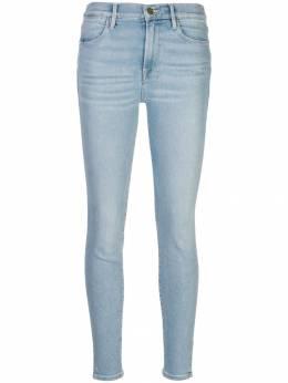 Frame Le High Skinny Crop Slit Rivet jeans LHSKCSV700